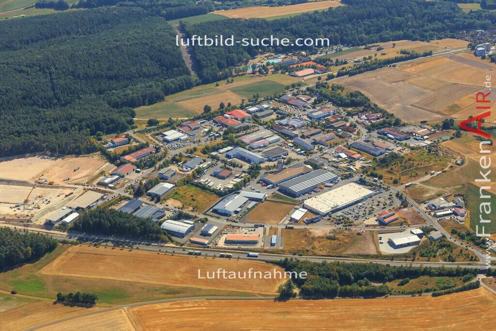 neustadt-aisch-2015-2237   Luftbild von  Neustadt-aisch - Luftaufnahme wurde 2015 von https://frankenair.de mittels Flugzeug (keine Drohne) erstellt - die Geschenkidee