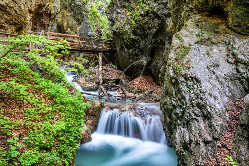 Wolfsklamm | Wunderschöne Wolfsklamm in Stans im Karwendel