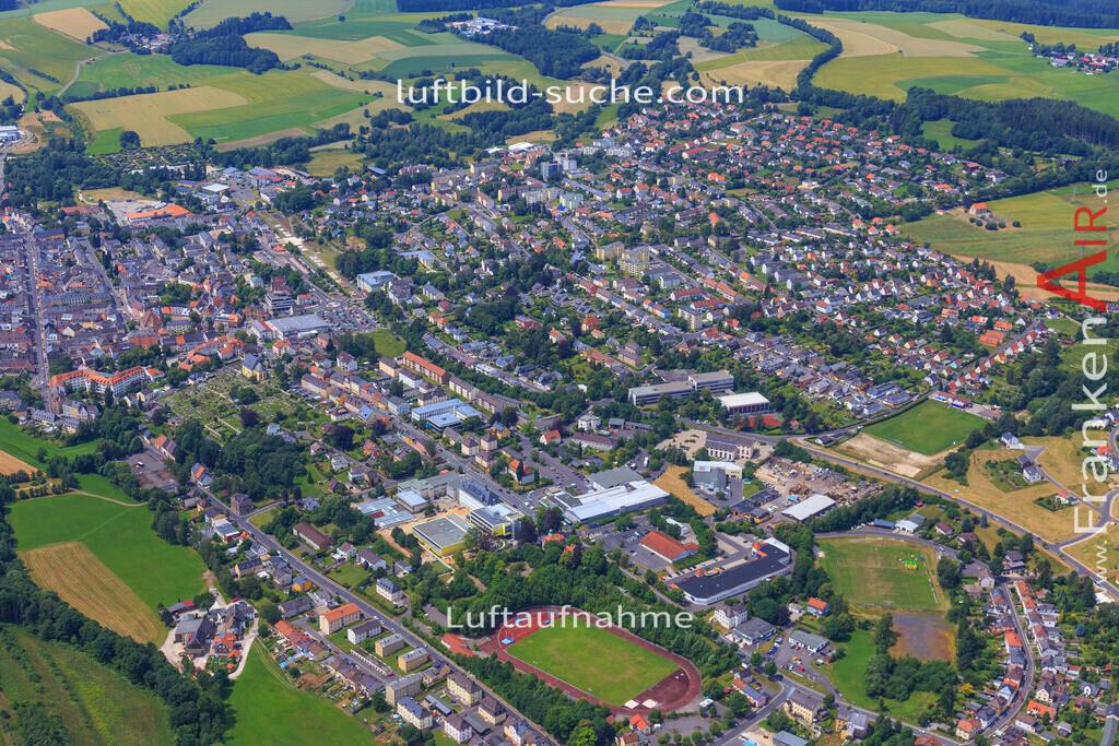wunsiedel-2016-3773 | Luftbild von  Wunsiedel - Luftaufnahme wurde 2016 von https://frankenair.de mittels Flugzeug (keine Drohne) erstellt - die Geschenkidee
