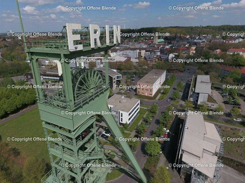 Luftbild Erinturm in Castrop-Rauxel | Erinturm in Castrop-Rauxel