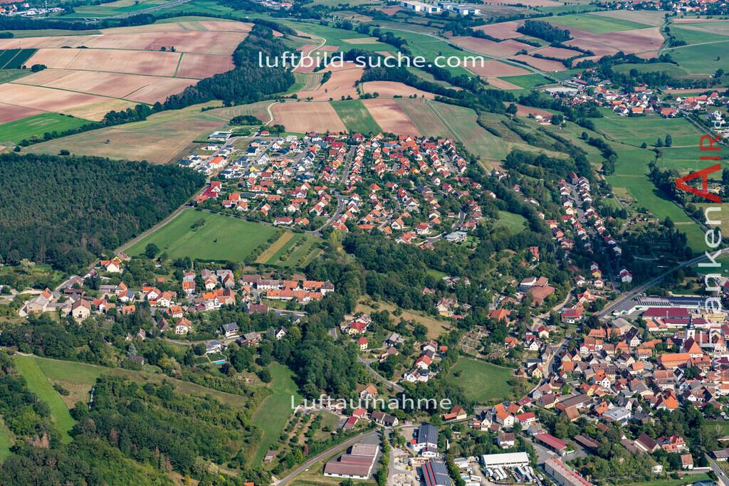 fuerstenforst-burghaslach-19-01 | aktuelles Luftbild von Fuerstenforst  Burghaslach - Luftaufnahme wurde 2019 von https://frankenair.de mittels Flugzeug (keine Drohne) erstellt.