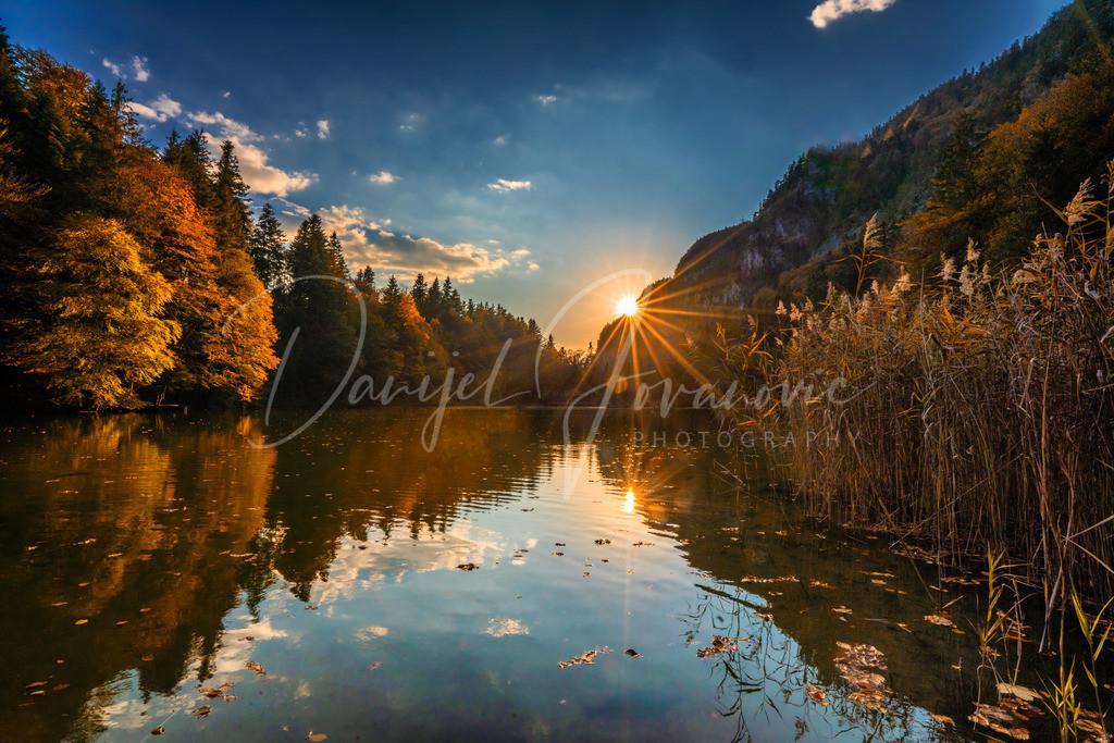 Berglsteinersee | Sonnenuntergang am Berglsteinersee
