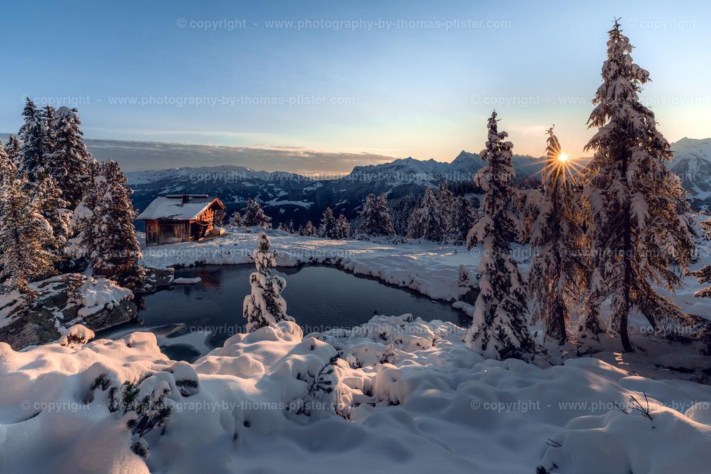 Penken Sonnenaufgang bei Alpenvereinshütte-1