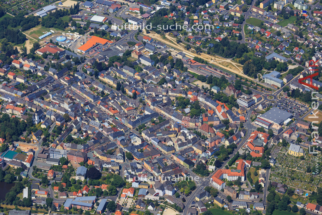 wunsiedel-2014-99 | Luftbild von  Wunsiedel - Luftaufnahme wurde 2014 von https://frankenair.de mittels Flugzeug (keine Drohne) erstellt - die Geschenkidee