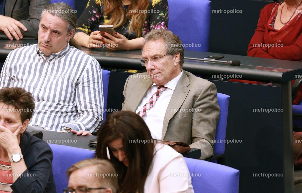 Klaus Ernst im Bundestag