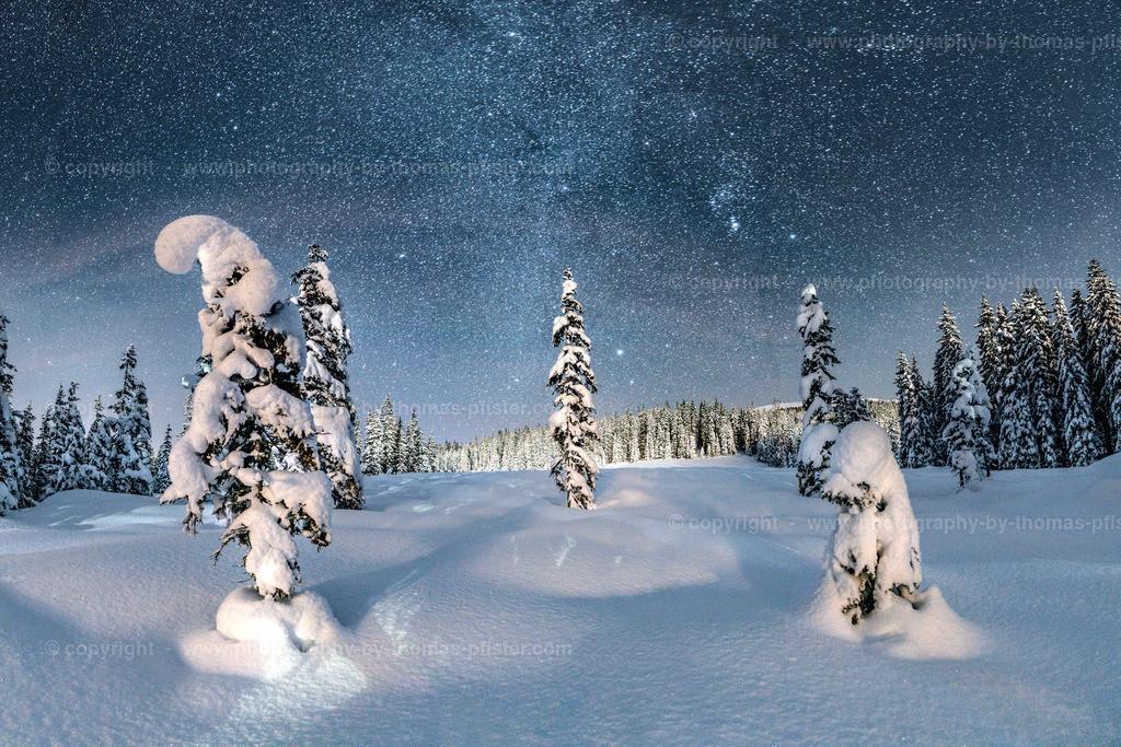 Winterlandschaft auf der Gerlosplatte-3