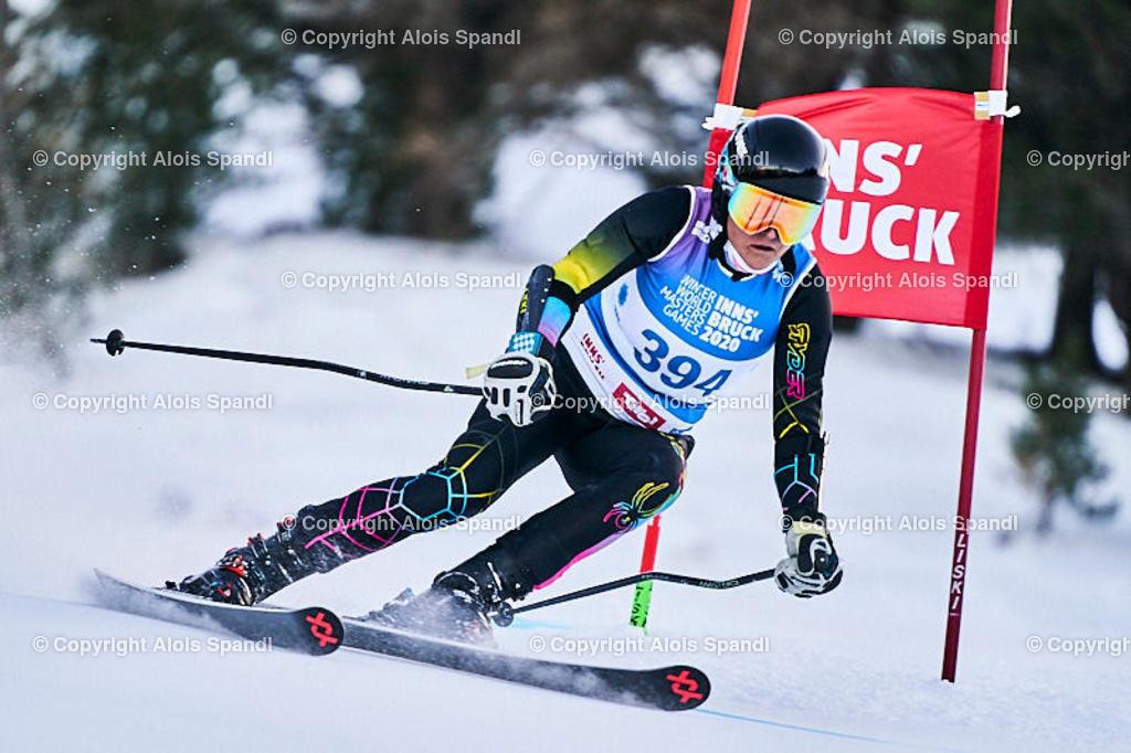 ALS5647_WWMG_GS-II_C | (C) FotoLois.com, Alois Spandl, WinterWorldMastersGames 2020 Innsbruck, Giant Slalom-II Gruppe C Damen, Patscherkofel Olympiaabfahrt, Mi 15. Jänner 2020.