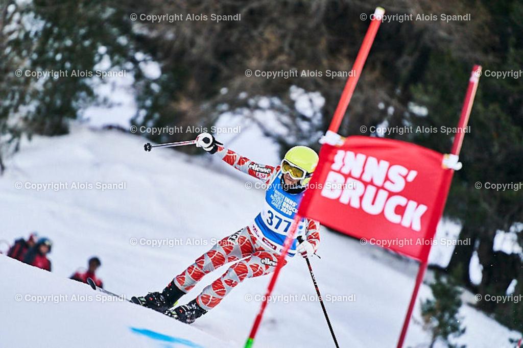 ALS5562_WWMG_GS-II_C | (C) FotoLois.com, Alois Spandl, WinterWorldMastersGames 2020 Innsbruck, Giant Slalom-II Gruppe C Damen, Patscherkofel Olympiaabfahrt, Mi 15. Jänner 2020.