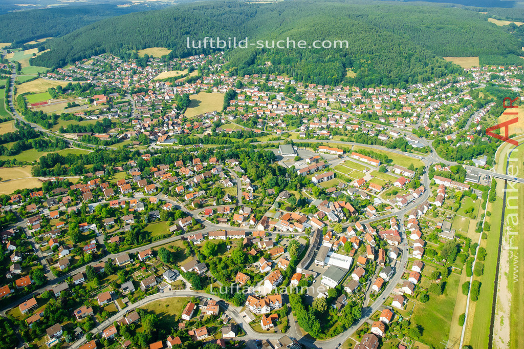 petzmannsberg--2008-10 | Luftbild von Petzmannsberg Kulmbach - Luftaufnahme wurde 2008 von https://frankenair.de mittels Flugzeug (keine Drohne) erstellt - die Geschenkidee