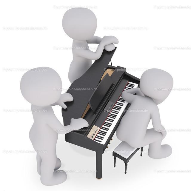 sitting in front of the  piano | Quelle: https://3dman.eu   Jetzt 250 Bilder kostenlos sichern