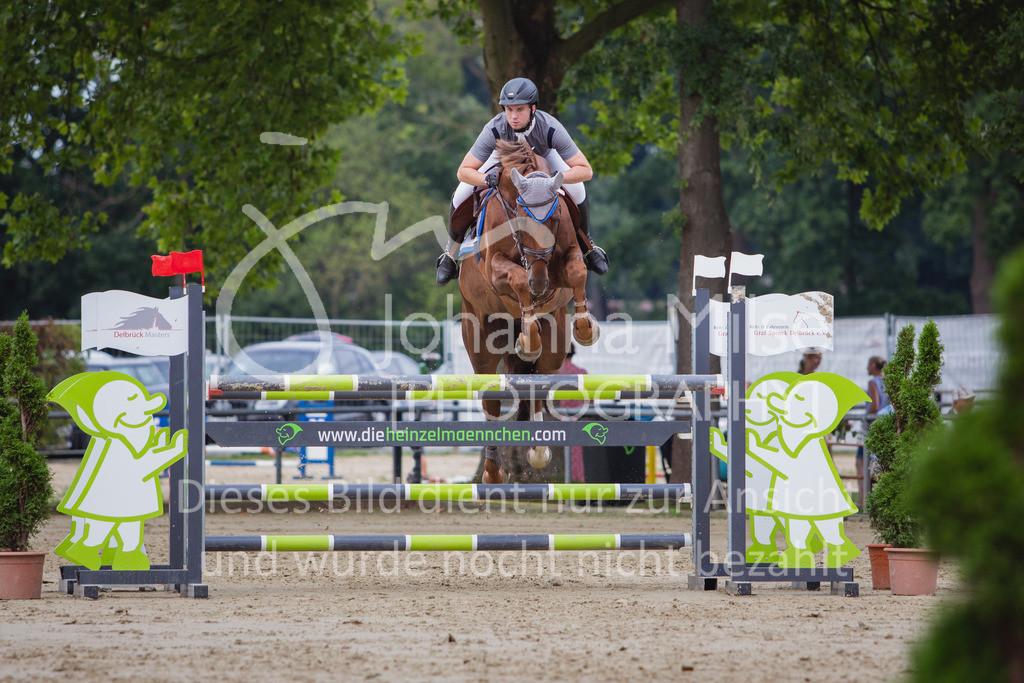 200821_Delbrück_Youngster-M-647 | Delbrück Masters 2020 Springprüfung Kl. M* Youngster Springen 6-8jährige Pferde