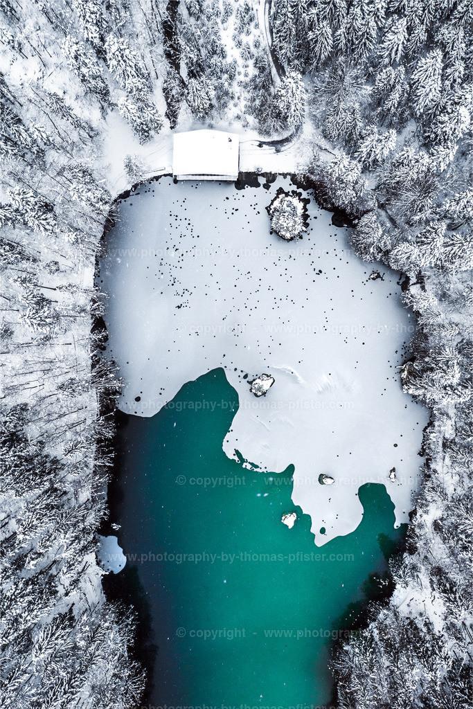 Berglsteiner See Schnee-3