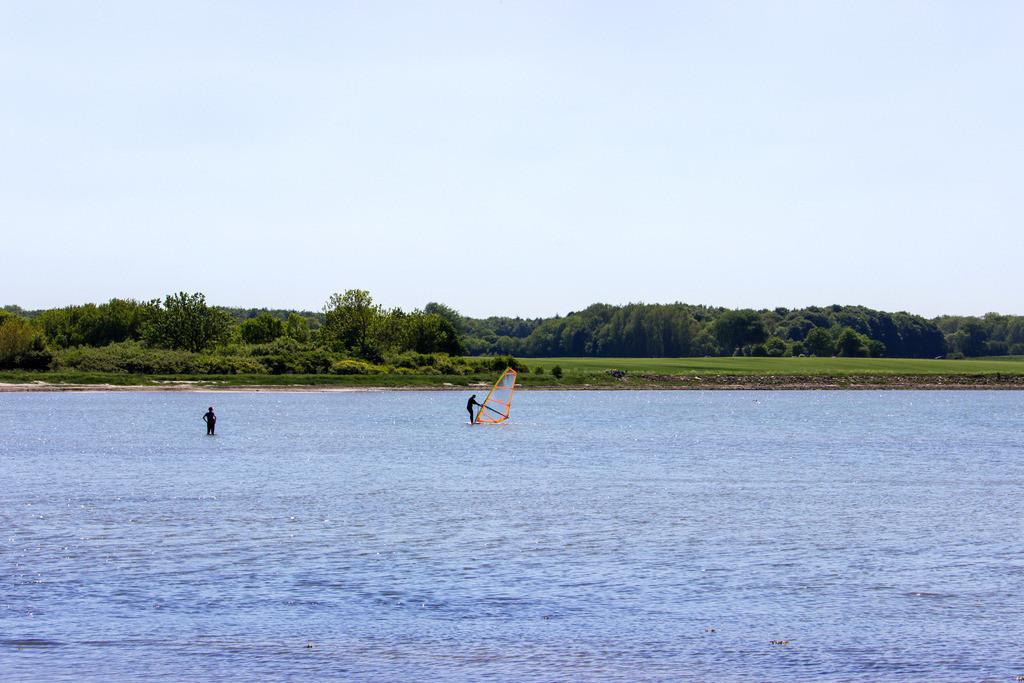 Windsurfer vor Wackerballig | Windsurfer vor Wackerballig