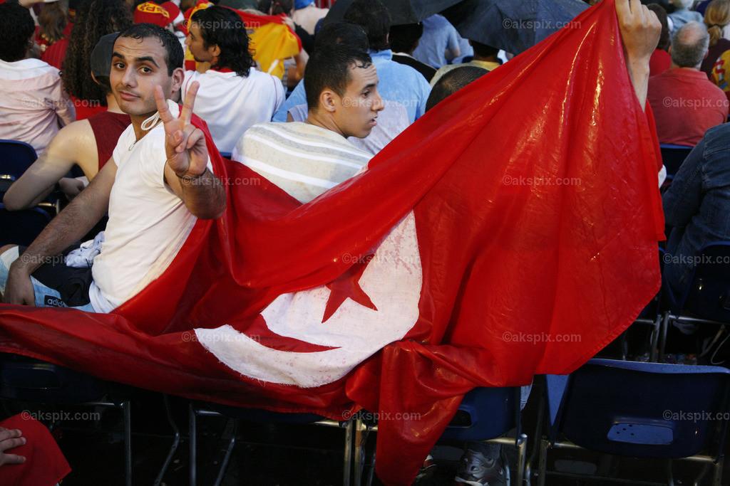 Tunesien-Fan