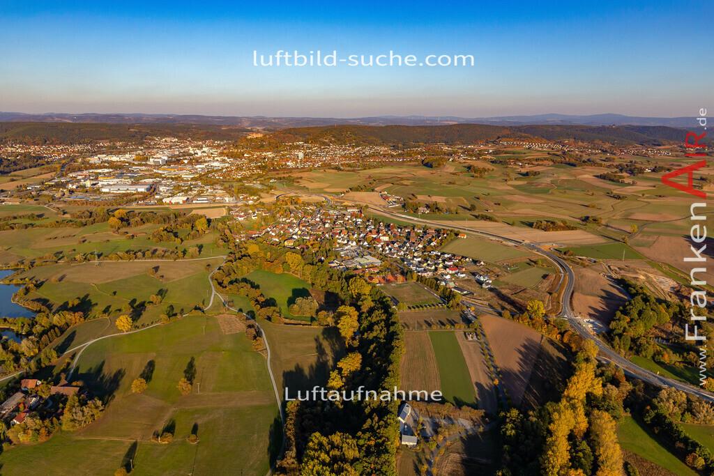 melkendorf-kulmbach-18-358 | aktuelles Luftbild von Melkendorf Kulmbach - Luftaufnahme wurde 2018 von https://frankenair.de mittels Flugzeug (keine Drohne) erstellt.