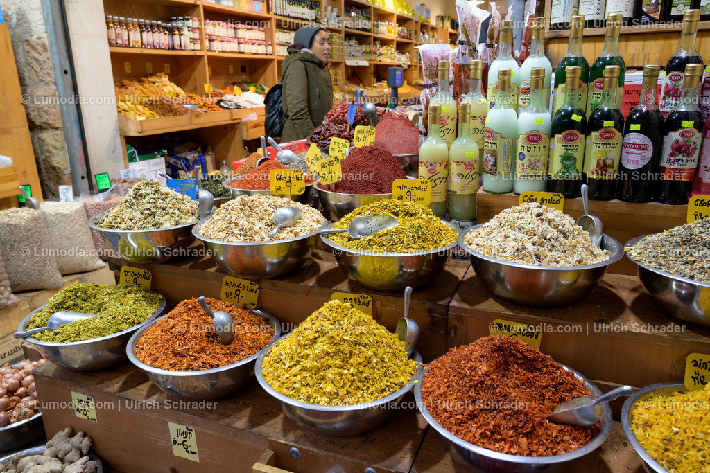10972-10055 - Markt in Jerusalem