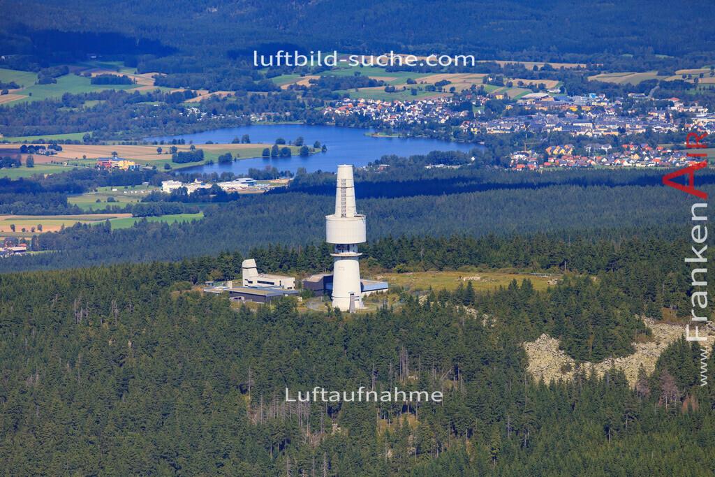 schneeberg-17-5388   Luftbild von Schneeberg  - Luftaufnahme wurde 2017 von https://frankenair.de mittels Flugzeug (keine Drohne) erstellt - die Geschenkidee