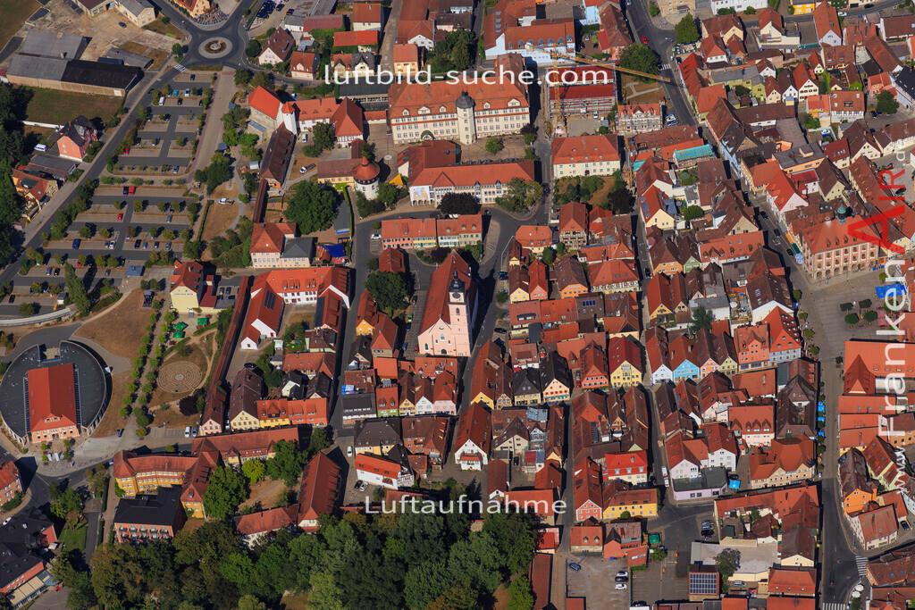 unterstrahlbach-neustadt-an-der-aisch-2015-100 | Luftbild von Unterstrahlbach Neustadt-an-der-aisch - Luftaufnahme wurde 2015 von https://frankenair.de mittels Flugzeug (keine Drohne) erstellt - die Geschenkidee