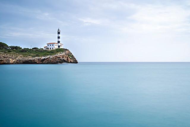 Portocolom Leuchtturm, Mallorca