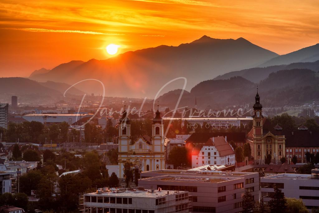 Sonnenau | Sonnenaufgang in Innsbruck