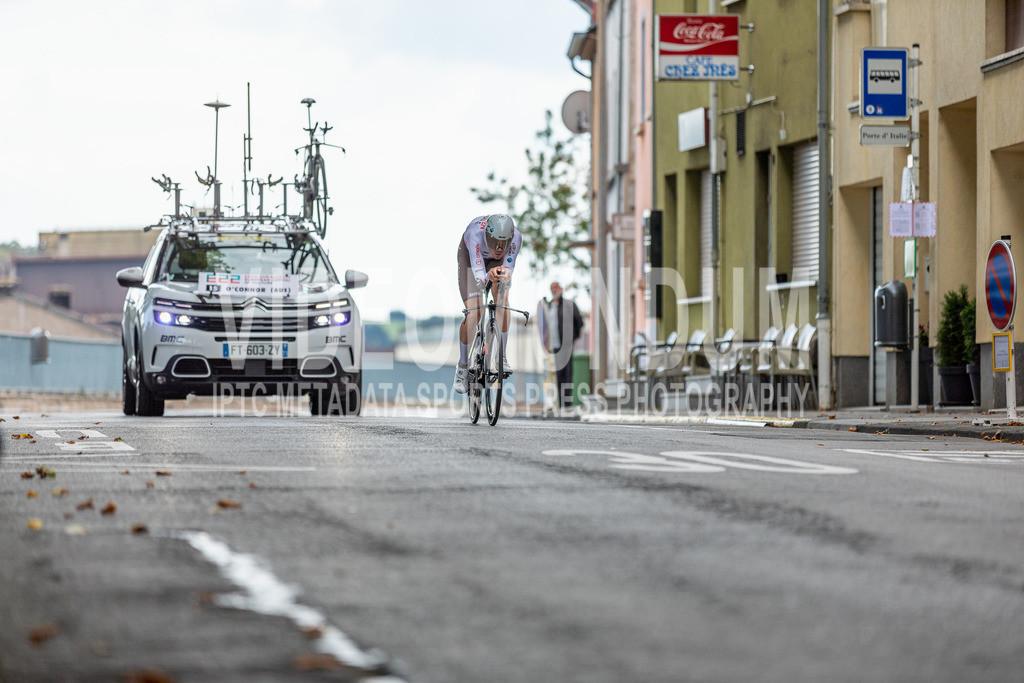 81st Skoda-Tour de Luxembourg 2021 | 81st Skoda-Tour de Luxembourg 2021, Stage 4 ITT Dudelange - Dudelange; Dudelange, 17.09.2021: O'CONNOR Ben (AG2R Citroën Team, 15)