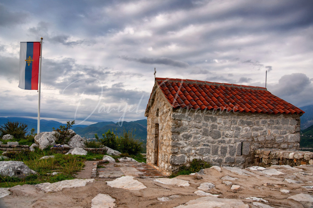 Kirche   Orthodoxe Kirche auf der Halbinsel Lustica