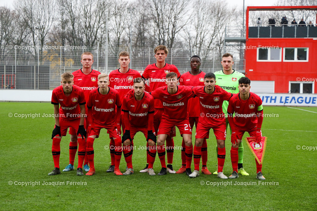 191211_levvsjuvu19_0052 | Leverkusen, 11.12.2019 UEFA Youth League Gruppe D Bayer 04 Leverkusen U19 - Juventus Turin emspor, v.l.,      (DFL/DFB REGULATIONS PROHIBIT ANY USE OF PHOTOGRAPHS as IMAGE SEQUENCES and/or QUASI-VIDEO)