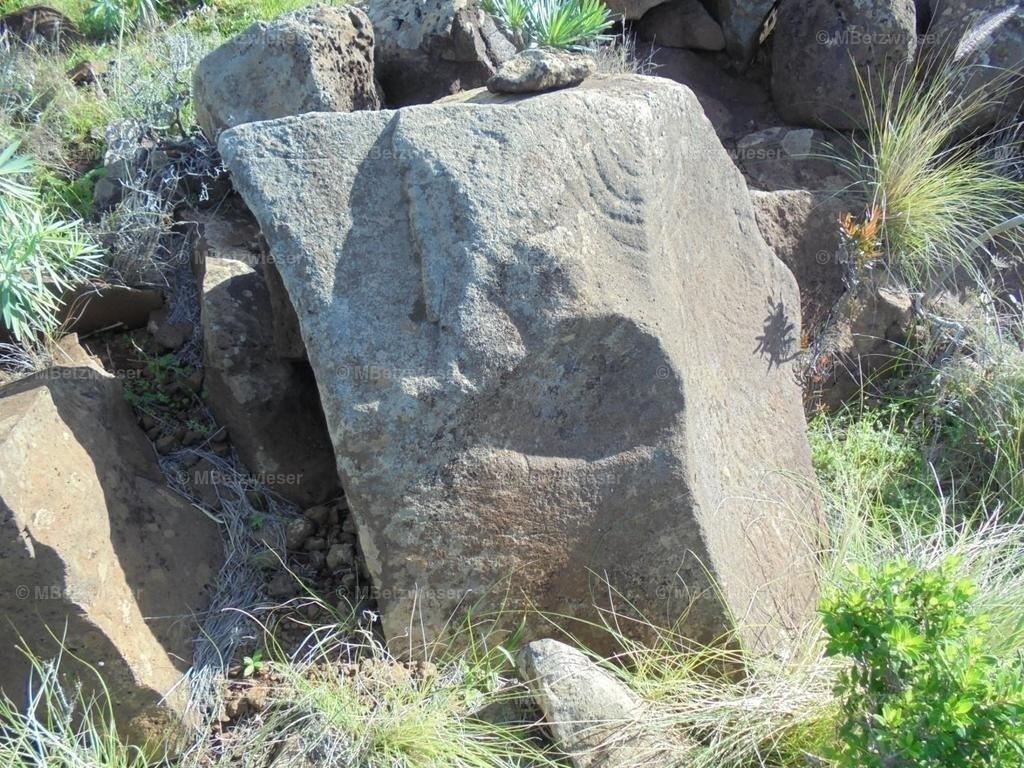 Steinmaske2 | gefunden in Garafia