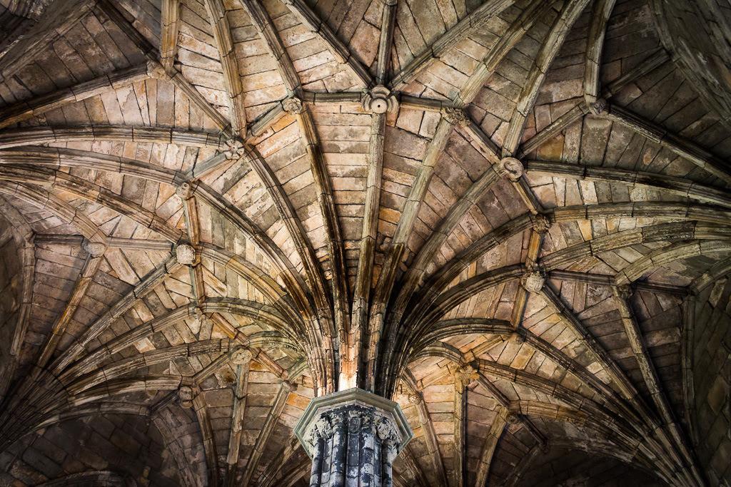 Alte Kirchendecke Detail