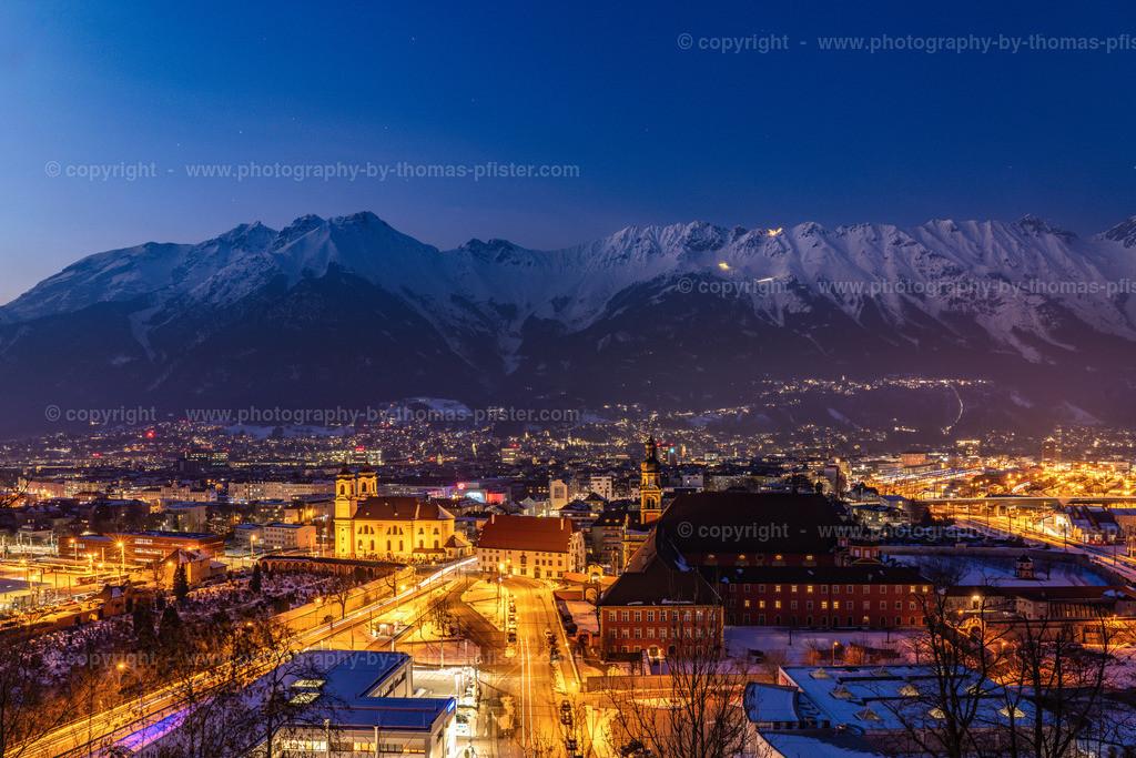 Innsbruck Blaue Stunde Kaiserjägermuseum-1