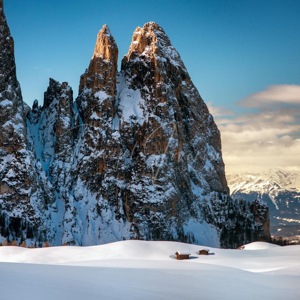 Schlern | Winter auf der Seiser Alm