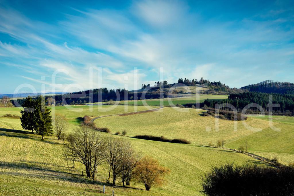 Eifellandschaft in der Vulkaneifel | Landschaft mit Blick auf die Sternwarte, Daun
