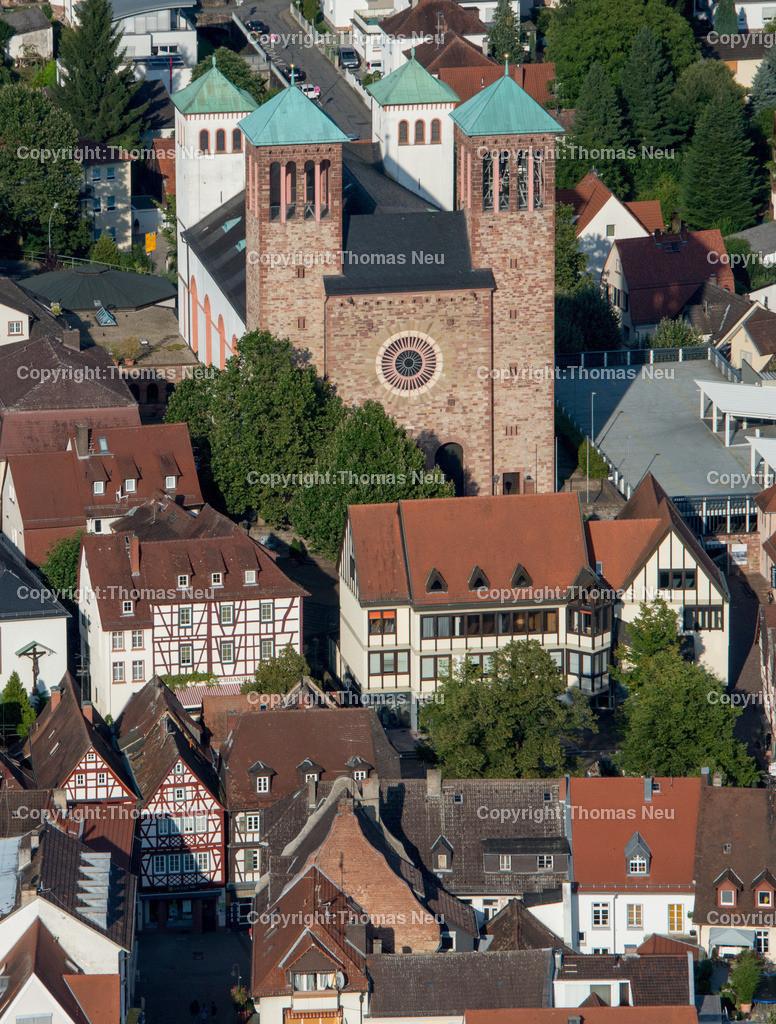 Innenstadt-2   Bensheim,Innenstadt, Sankt Georg, Haus am markt, ,, Bild: Thomas Neu