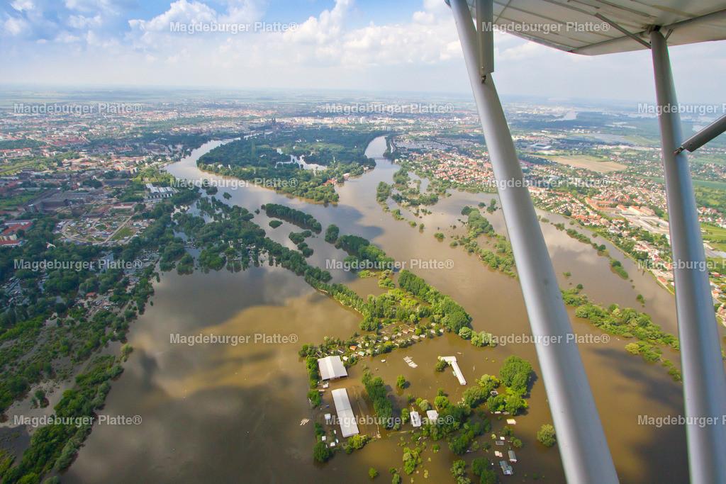 Hochwasser Magdeburg Salbker Seen 2013-0277