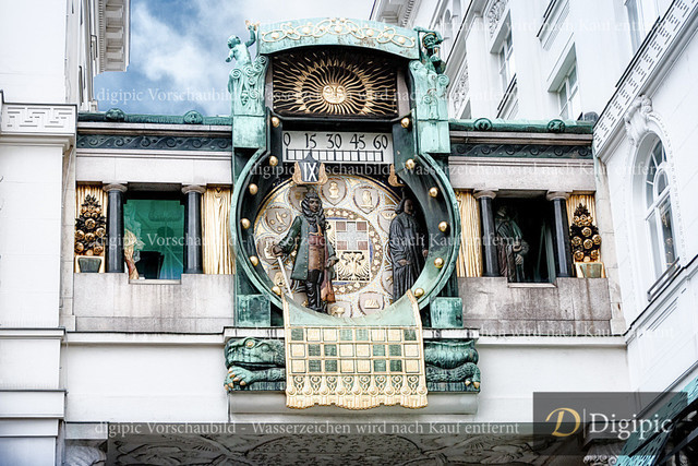 Ankeruhr 1 | Ankeruhr in Wien