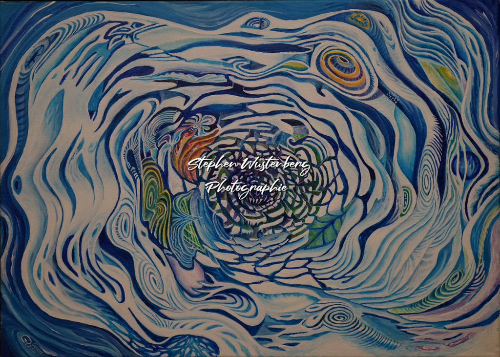 Gingel-0046 Vor dem Muster | Roland Gingel Artwork @ Gravity Boulderhalle, Bad Kreuznach