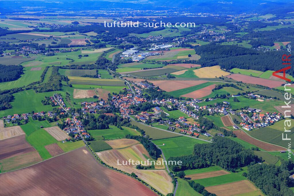 burggrub-stockheim-17-5461 | Luftbild von Burggrub Stockheim - Luftaufnahme wurde 2017 von https://frankenair.de mittels Flugzeug (keine Drohne) erstellt - die Geschenkidee