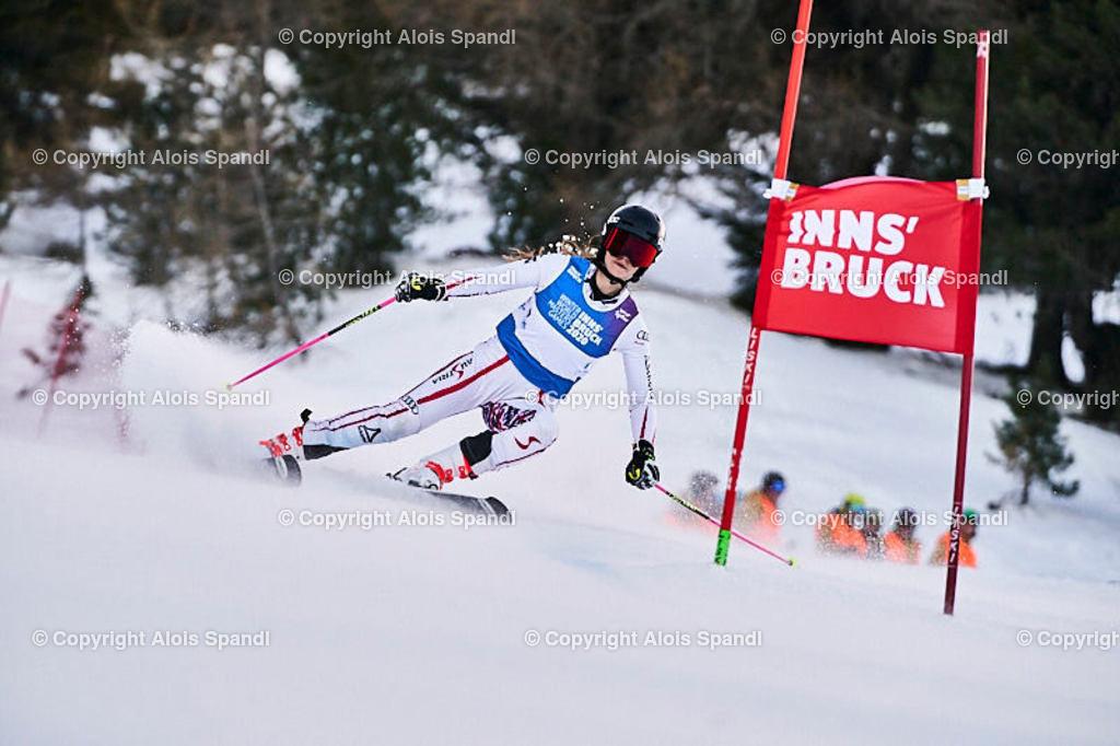 ALS5403_WWMG_GS-II_C   (C) FotoLois.com, Alois Spandl, WinterWorldMastersGames 2020 Innsbruck, Giant Slalom-II Gruppe C Damen, Patscherkofel Olympiaabfahrt, Mi 15. Jänner 2020.