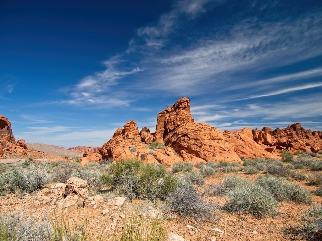 Valley of Fire | Sandsteinformation im Valley of Fire State Park, Nevada, USA