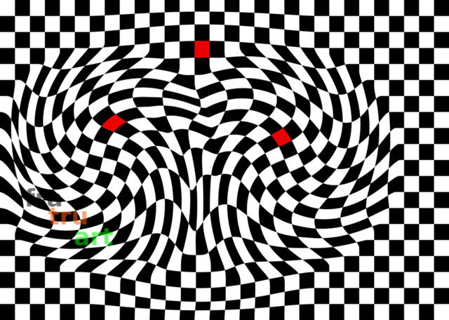 drei rote quadrate