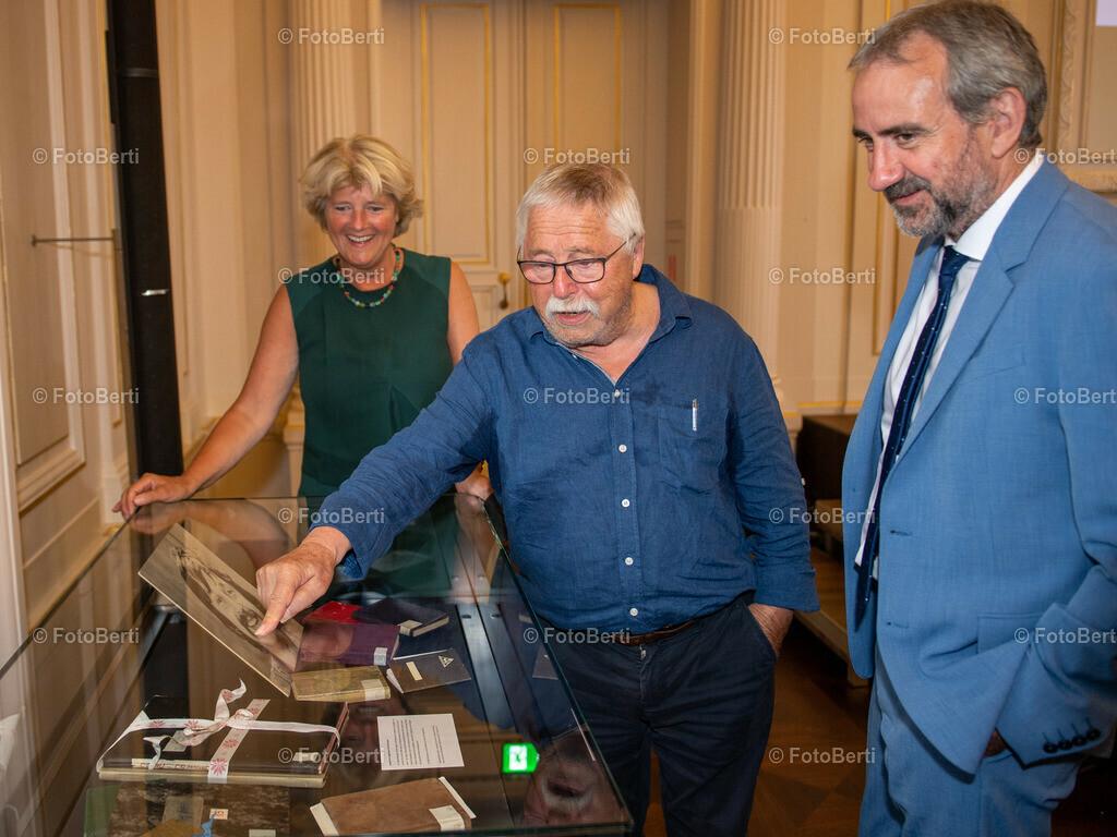 Wolf Biermann in der Staatsbibliothek zu Berlin