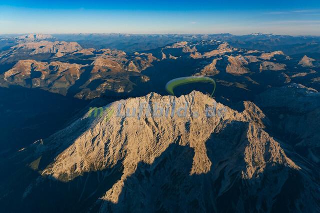 luftbild-watzmann-bruno-kapeller-01 | Luftaufnahme vom Watzmann 2713m