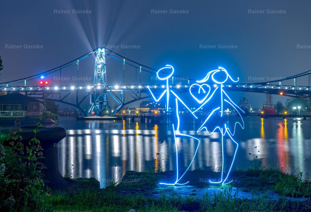 161101-52-Wilhelmshaven KW Brücke Lightpainting