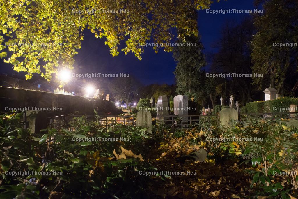 Friedhof-10 | Bensheim,Friedhof Mitte, Bergstrasse bei Nacht, ,, Bild: Thomas Neu
