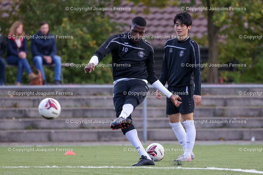 0551_3007 | 10.10.2020 Fussball Hessenliga SC Viktoria Griesheim - Hünfelder SV  v.l.,  Mohamadou