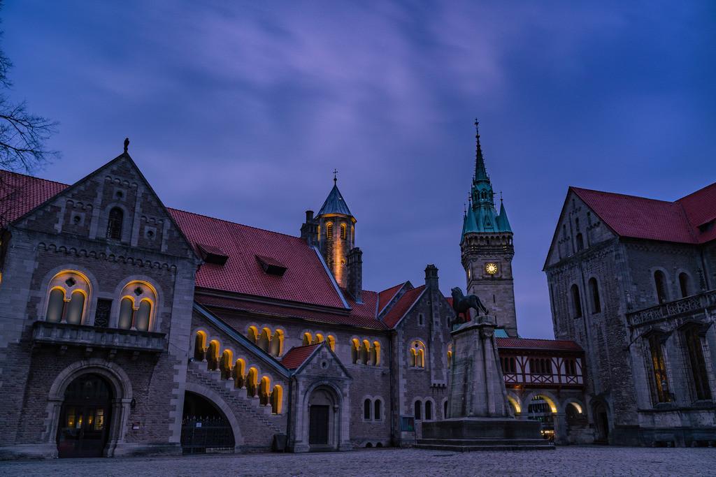 Braunschweig zur blauen Stunde