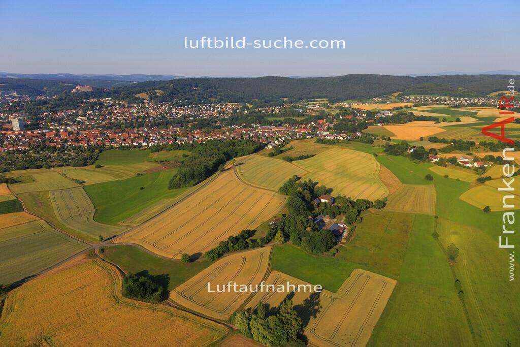 kulmbach-2015-1783 | Luftbild von  Kulmbach - Luftaufnahme wurde 2015 von https://frankenair.de mittels Flugzeug (keine Drohne) erstellt - die Geschenkidee