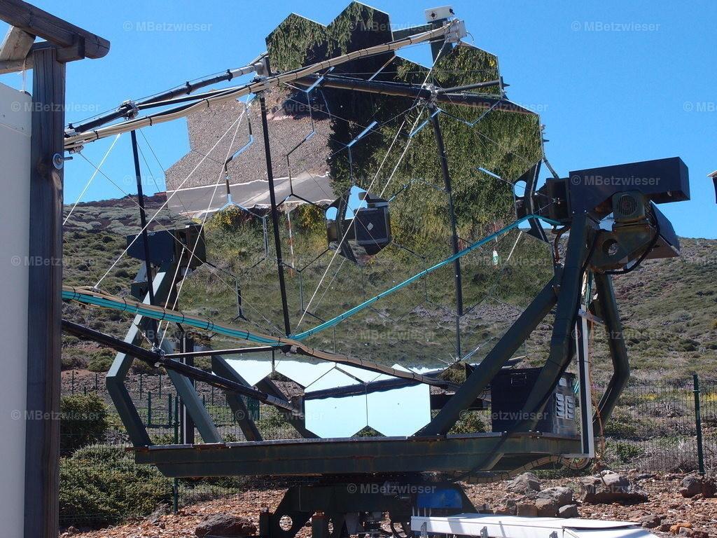 P4295260 | Ur-Gammastrahlen Teleskop der Uni Heidelberg auf La Palma