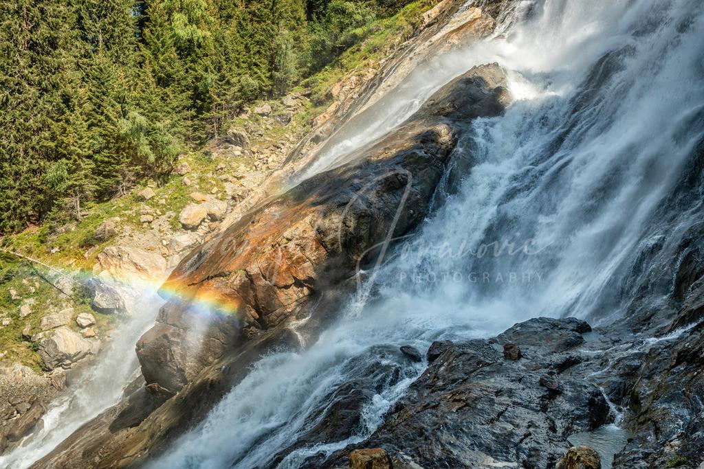 Grawa Wasserfall | Grawa Wasserfall mit Regenbogen