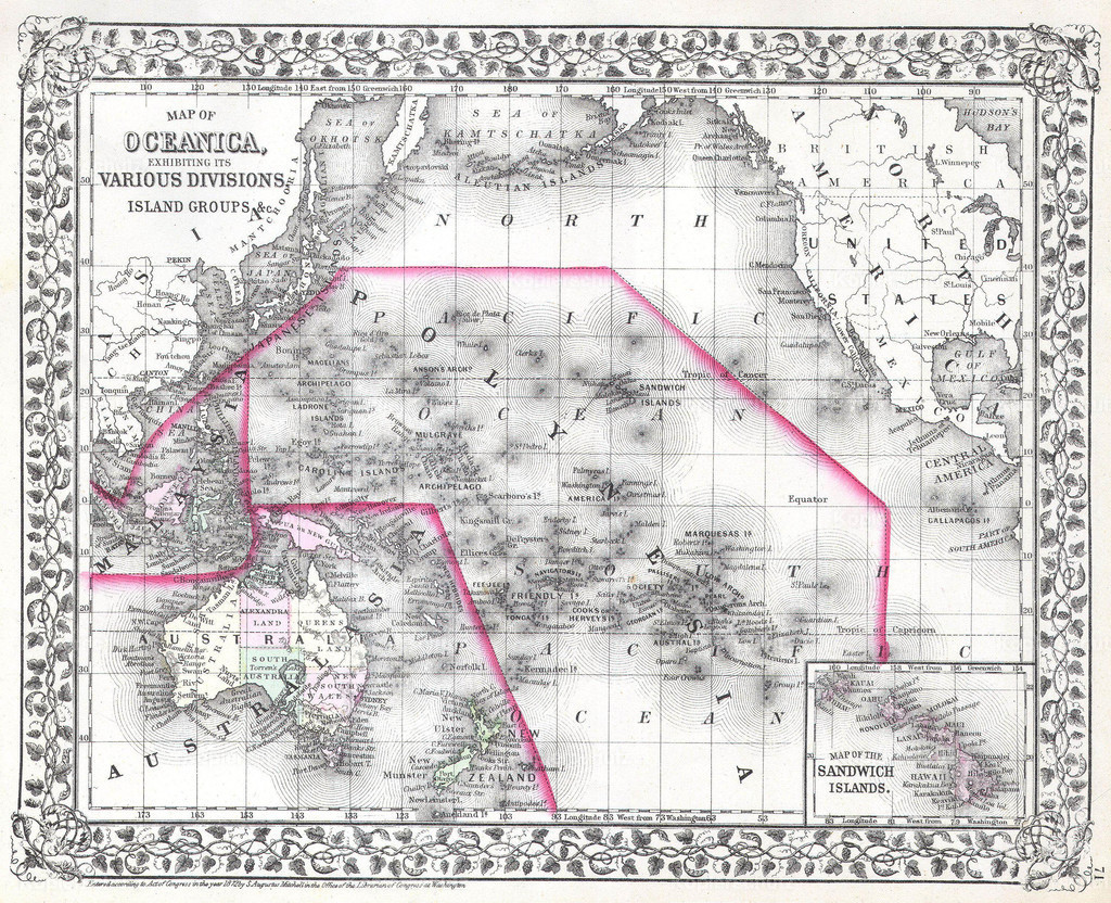 1874_Mitchell_Map_of_Australia__Polynesia_and_Hawaii